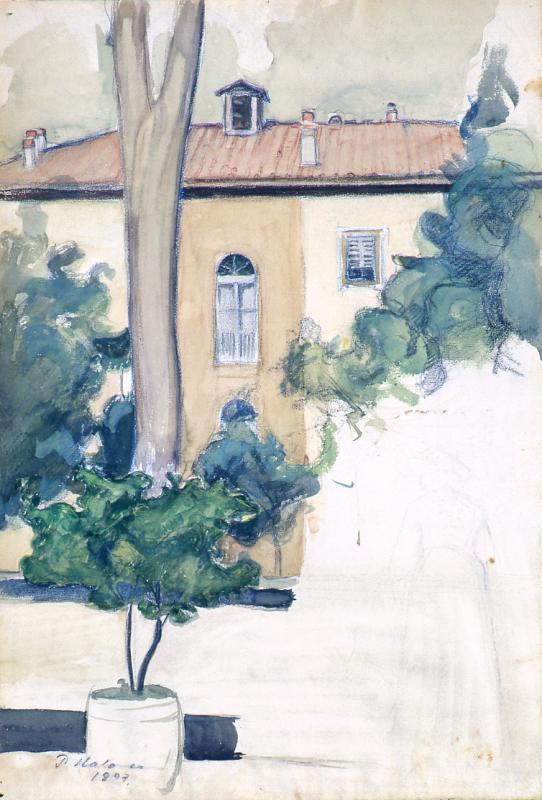 PH Huvila Firenzessä 1897